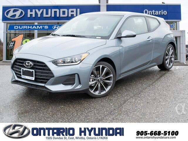 2020 Hyundai Veloster Luxury (Stk: 023398) in Whitby - Image 1 of 20