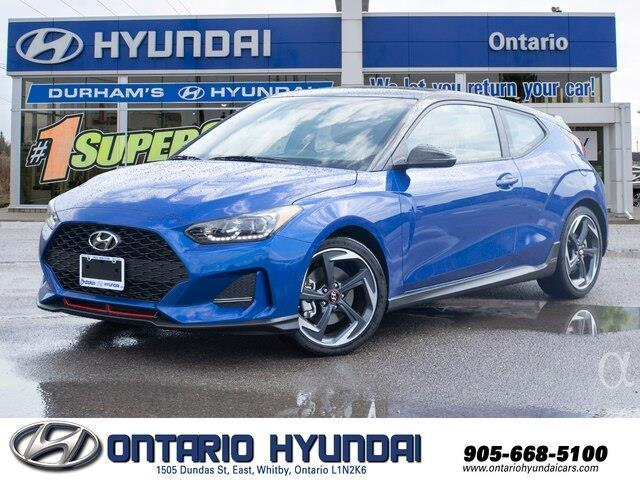2020 Hyundai Veloster Turbo (Stk: 024924) in Whitby - Image 1 of 21
