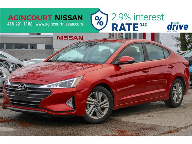 2019 Hyundai Elantra Preferred (Stk: U12689R) in Scarborough - Image 1 of 21