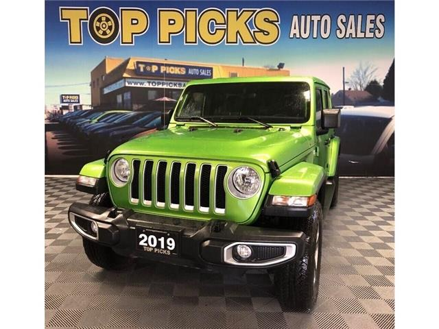 2019 Jeep Wrangler Unlimited Sahara (Stk: 623084) in NORTH BAY - Image 1 of 30