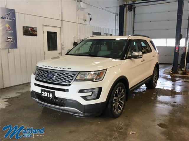 2016 Ford Explorer Platinum (Stk: 94067) in Sault Ste. Marie - Image 1 of 30