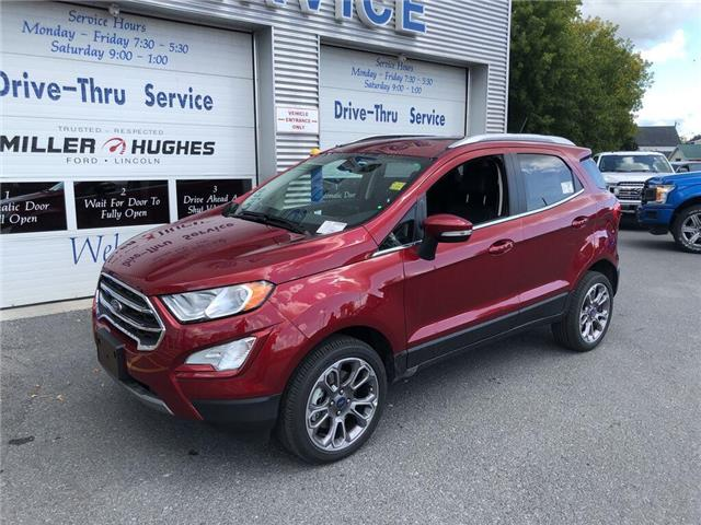 2019 Ford EcoSport Titanium (Stk: 19349) in Cornwall - Image 1 of 11