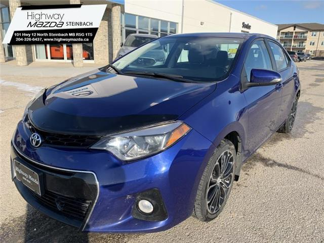 2016 Toyota Corolla S (Stk: M19117A) in Steinbach - Image 1 of 23