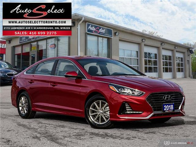2018 Hyundai Sonata  5NPE24AF5JH662185 H1R2A11 in Scarborough