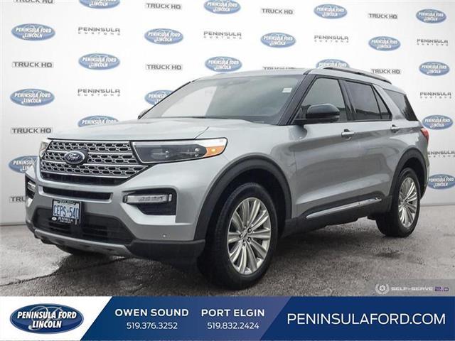2020 Ford Explorer Limited (Stk: 20EX03) in Owen Sound - Image 1 of 25