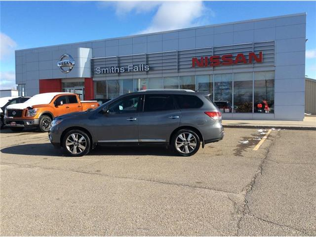 2015 Nissan Pathfinder Platinum (Stk: 19-390A) in Smiths Falls - Image 1 of 14