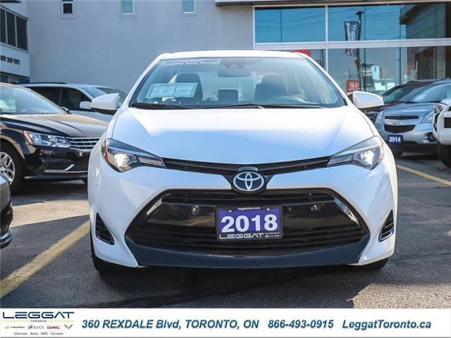 2018 Toyota Corolla LE (Stk: T11670) in Etobicoke - Image 2 of 19