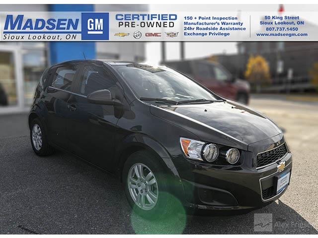 2015 Chevrolet Sonic LT Auto (Stk: A19142) in Sioux Lookout - Image 1 of 11