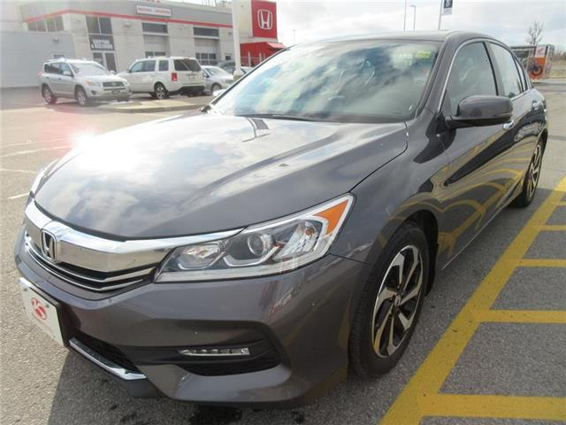 2016 Honda Accord EX-L (Stk: U1107) in Ottawa - Image 1 of 21
