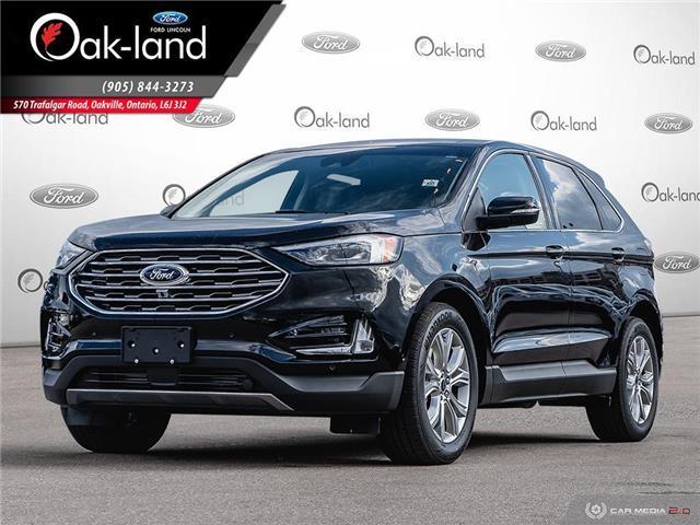 2020 Ford Edge Titanium (Stk: 0D003) in Oakville - Image 1 of 25