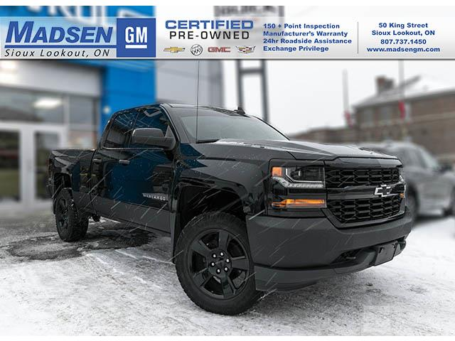 2016 Chevrolet Silverado 1500 WT (Stk: A19438) in Sioux Lookout - Image 1 of 11