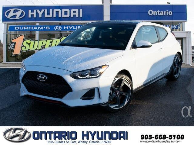 2020 Hyundai Veloster Turbo (Stk: 024926) in Whitby - Image 1 of 20