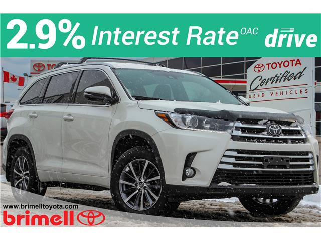 2018 Toyota Highlander XLE 5TDJZRFHXJS529692 196462A in Scarborough