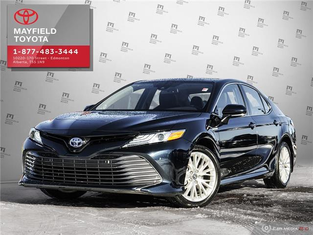 2019 Toyota Camry Hybrid XLE (Stk: 1901634A) in Edmonton - Image 1 of 28