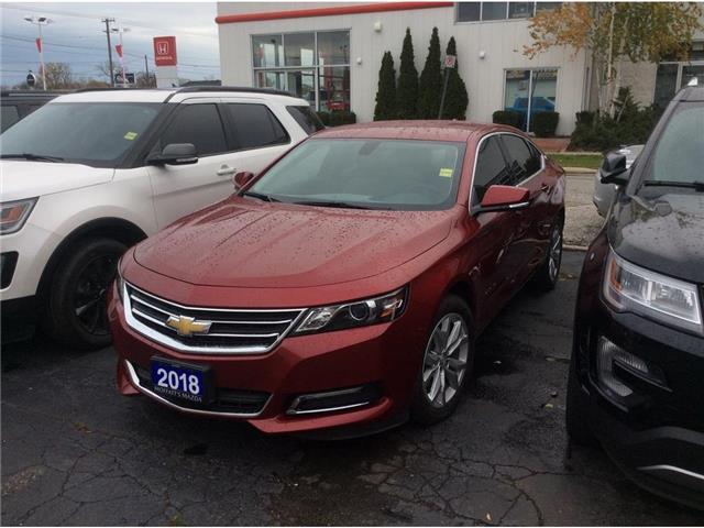 2018 Chevrolet Impala 1LT (Stk: A8826) in Sarnia - Image 1 of 1