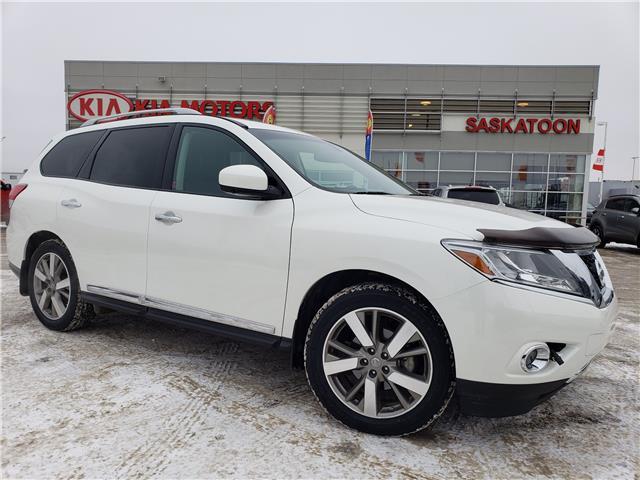 2015 Nissan Pathfinder Platinum (Stk: 40163A) in Saskatoon - Image 1 of 30