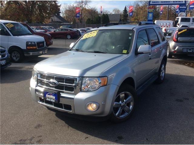 2012 Ford Escape Limited (Stk: A7272) in Sarnia - Image 1 of 30