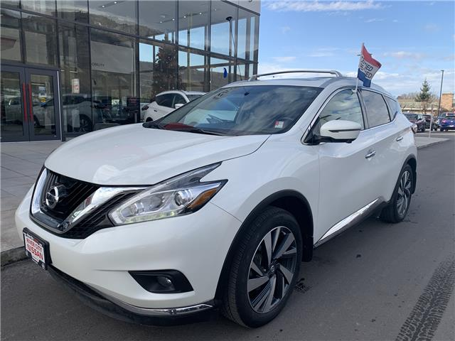 2018 Nissan Murano Platinum (Stk: T19243A) in Kamloops - Image 1 of 27