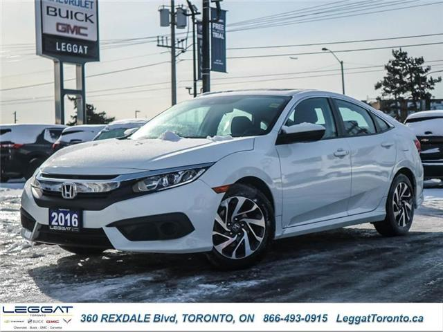 2016 Honda Civic EX (Stk: T11650A) in Etobicoke - Image 1 of 24