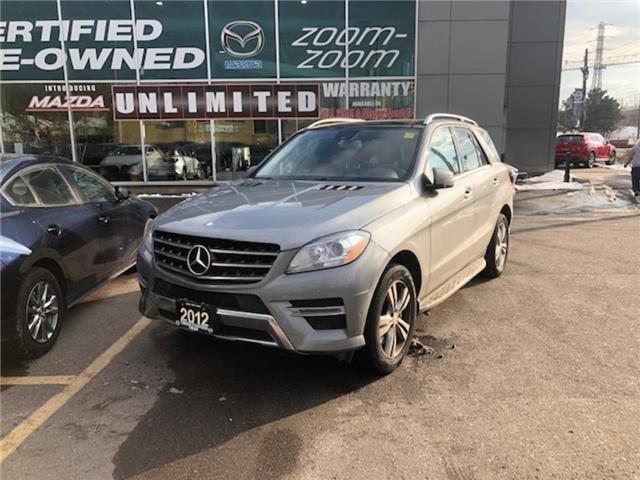 2012 Mercedes-Benz ML350 BlueTEC 4MATIC NAVI, PANORAMIC ROOF, ALLOYS, LEATH (Stk: 19053A) in Toronto - Image 1 of 1