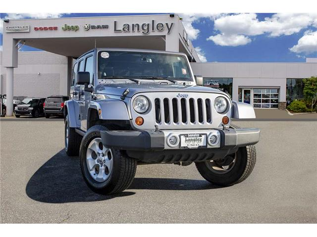 2013 Jeep Wrangler Unlimited Sahara (Stk: EE910980A) in Surrey - Image 1 of 21
