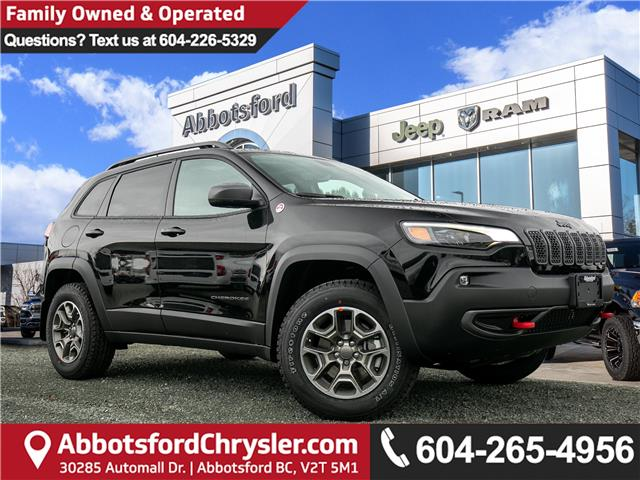 2020 Jeep Cherokee Trailhawk (Stk: L544253) in Abbotsford - Image 1 of 25
