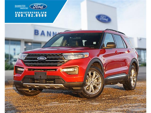 2020 Ford Explorer XLT (Stk: S202445) in Dawson Creek - Image 1 of 19