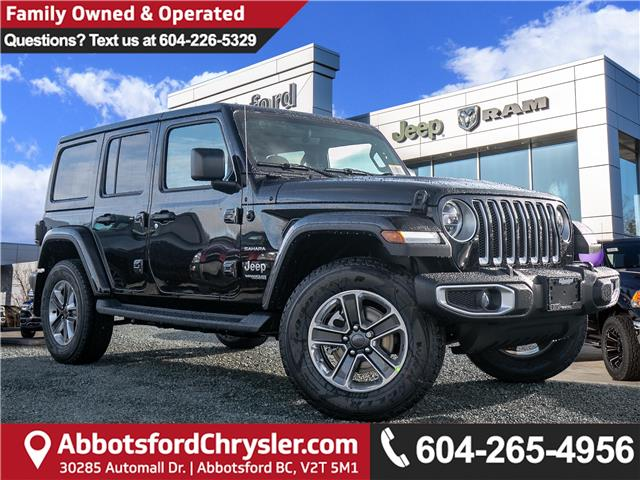 2020 Jeep Wrangler Unlimited Sahara (Stk: L191937) in Abbotsford - Image 1 of 24