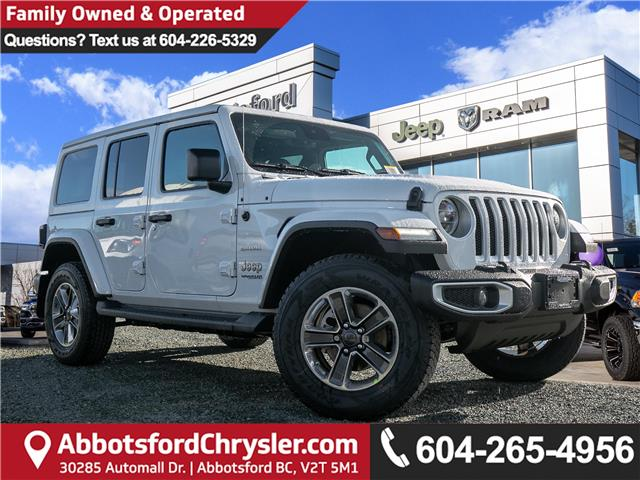 2020 Jeep Wrangler Unlimited Sahara (Stk: L191941) in Abbotsford - Image 1 of 24
