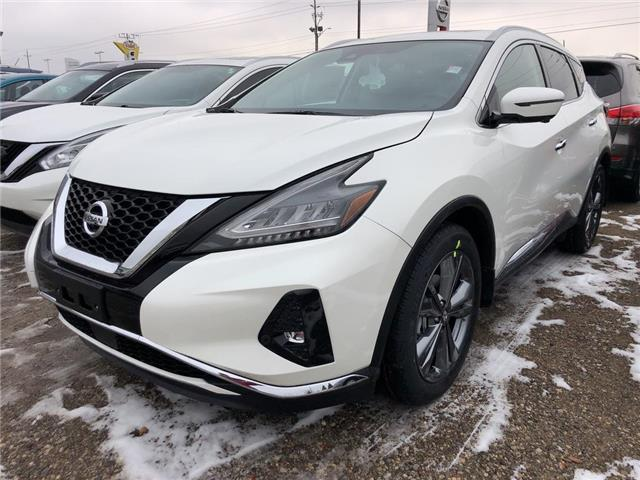 2020 Nissan Murano Platinum (Stk: W0068) in Cambridge - Image 1 of 5