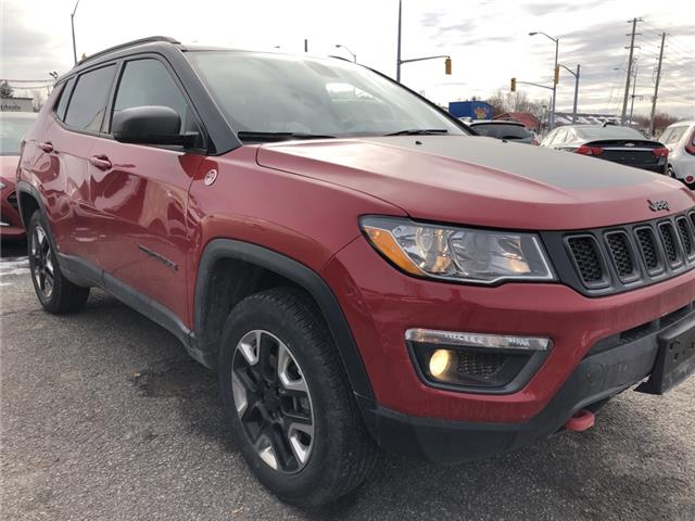 2018 Jeep Compass Trailhawk (Stk: ) in Kemptville - Image 1 of 14