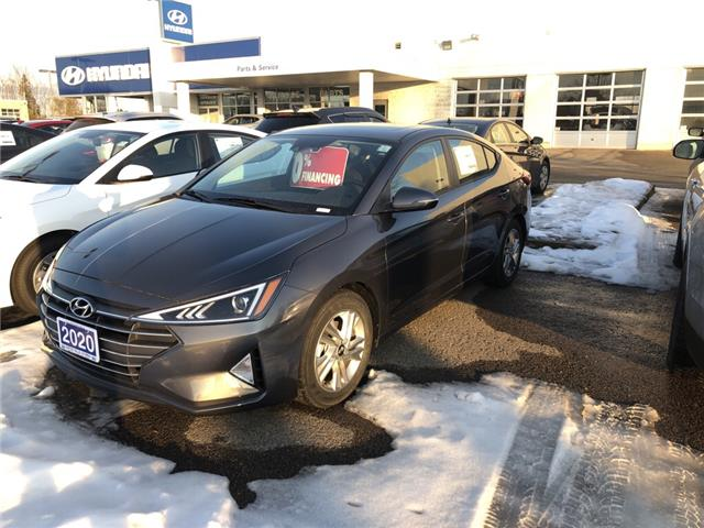 2020 Hyundai Elantra Preferred w/Sun & Safety Package (Stk: 9921) in Smiths Falls - Image 1 of 4