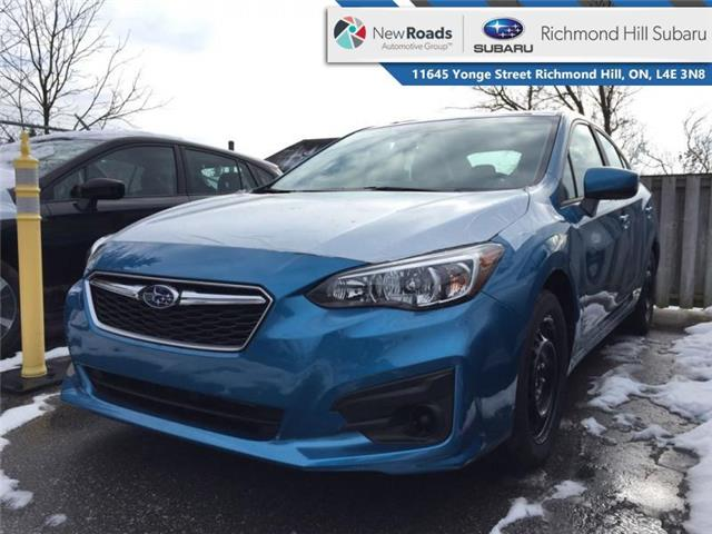 2019 Subaru Impreza 4-dr Convienence AT (Stk: 33004) in RICHMOND HILL - Image 1 of 1
