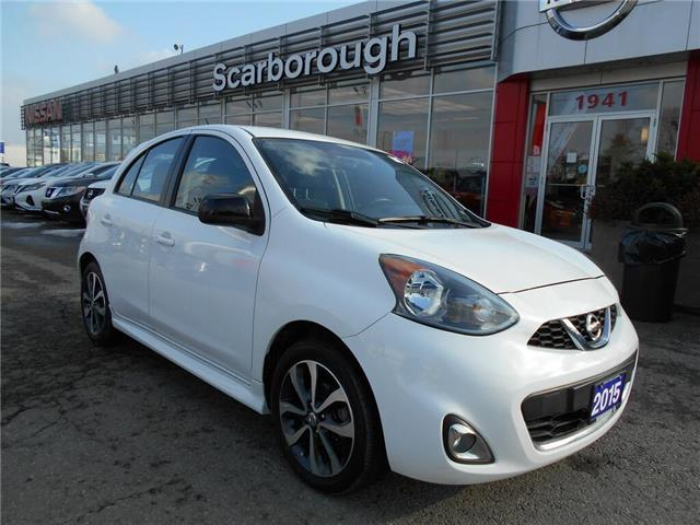 2015 Nissan Micra  (Stk: Y19187A) in Scarborough - Image 1 of 21