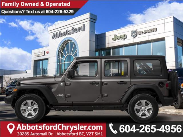 2020 Jeep Wrangler Unlimited Sahara (Stk: L191944) in Abbotsford - Image 1 of 1