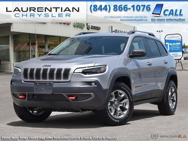 2020 Jeep Cherokee Trailhawk (Stk: 20128) in Sudbury - Image 1 of 23