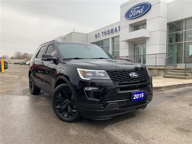 2019 Ford Explorer Sport (Stk: S0038A) in St. Thomas - Image 1 of 30