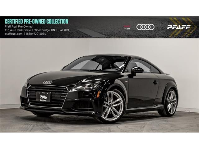 2016 Audi TT 2.0T (Stk: C7296) in Woodbridge - Image 1 of 22