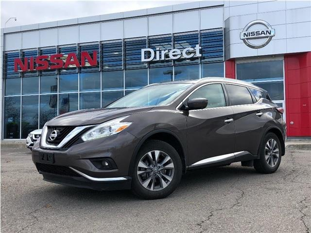 2017 Nissan Murano SL   CERTIFIED PRE-OWNED   LIKE NEW!!! (Stk: P0644) in Mississauga - Image 1 of 15