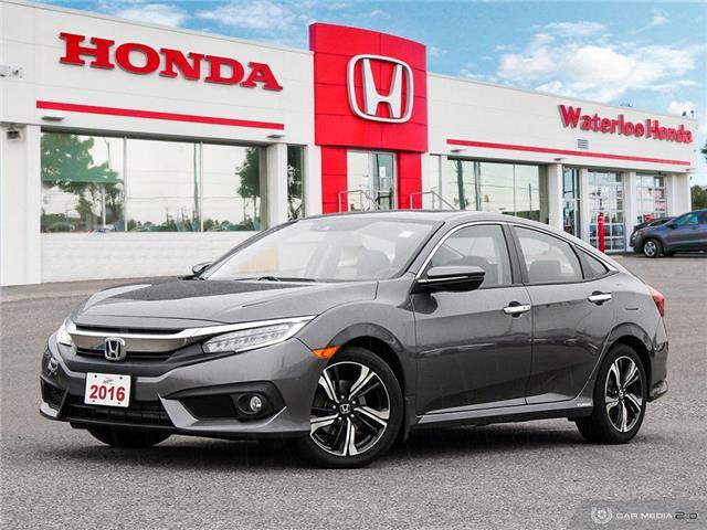 2016 Honda Civic Touring (Stk: U6443) in Waterloo - Image 1 of 27