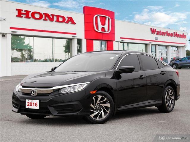 2016 Honda Civic EX (Stk: U6456) in Waterloo - Image 1 of 27