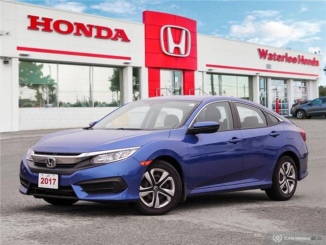 2017 Honda Civic LX (Stk: U6480) in Waterloo - Image 1 of 27