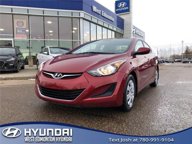 2016 Hyundai Elantra  (Stk: 1528TA) in Edmonton - Image 1 of 20