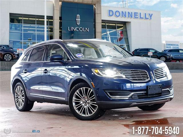 2017 Lincoln MKX Reserve (Stk: PLDS890A) in Ottawa - Image 1 of 27