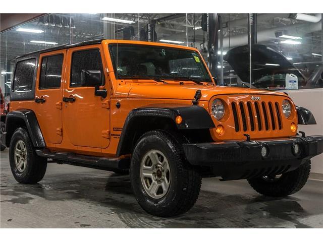 2012 Jeep Wrangler Unlimited Sport (Stk: 41788BUX) in Innisfil - Image 1 of 21