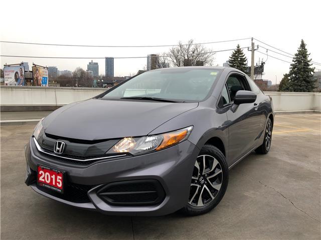2015 Honda Civic EX (Stk: C20067A) in Toronto - Image 1 of 28