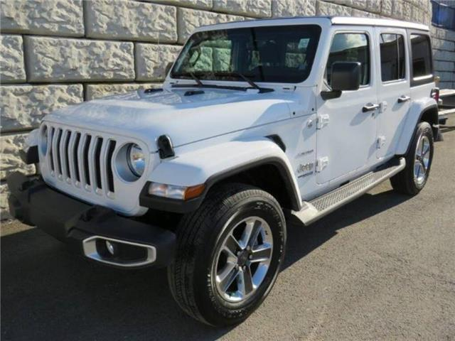 2019 Jeep Wrangler Unlimited Sahara (Stk: D91082P) in Fredericton - Image 1 of 22