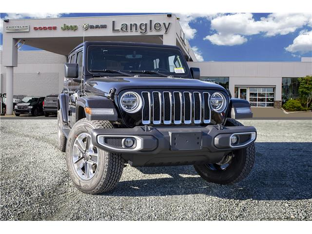 2020 Jeep Wrangler Unlimited Sahara (Stk: L177205) in Surrey - Image 1 of 22