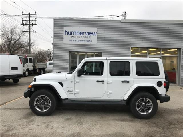 2019 Jeep Wrangler Unlimited Sahara (Stk: 1C4HJX) in Etobicoke - Image 1 of 9