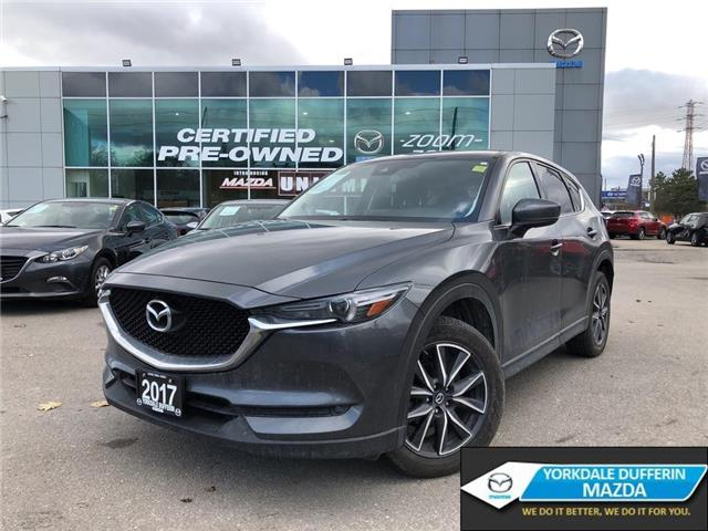 2017 Mazda CX-5 GT AWD at NAVI,ALLOYS,SUNROOF,LEATHER,NO ACCIDENT (Stk: P20019) in Toronto - Image 1 of 25